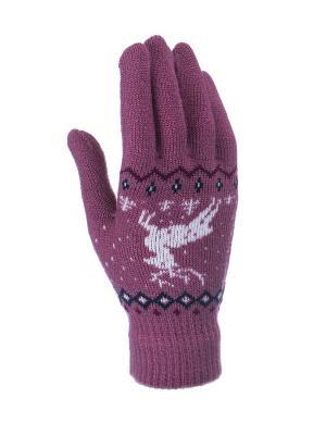Перчатки детские Cascatto. Цвет: лиловый