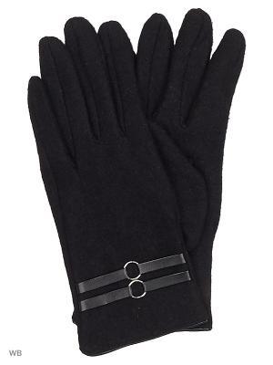 Перчатки Malgrado. Цвет: черный