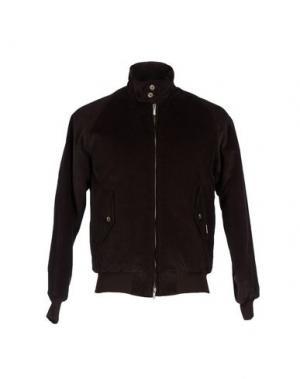 Куртка BARACUTA. Цвет: темно-коричневый