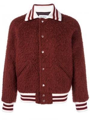 Куртка бомбер Umit Benan. Цвет: красный