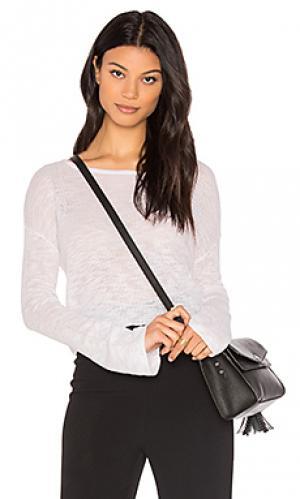 Укороченный свитер darlington Feel the Piece. Цвет: белый