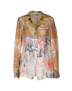 Пиджак MALÌPARMI. Цвет: верблюжий