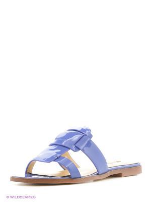 Пантолеты Vitacci. Цвет: синий
