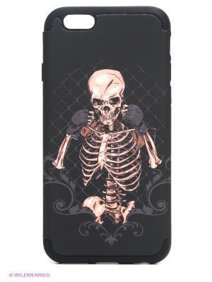 Чехол для iphone 6 WB. Цвет: черный, бежевый