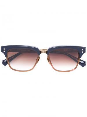 Солнцезащитные очки Statesman Five Dita Eyewear. Цвет: металлический