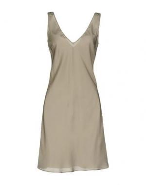 Короткое платье WETPAINT. Цвет: светло-серый
