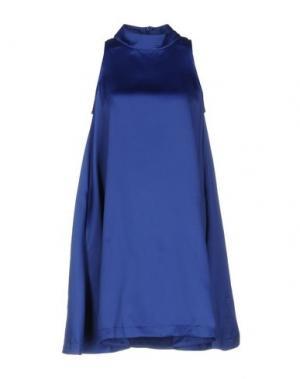 Короткое платье EDIT. Цвет: ярко-синий