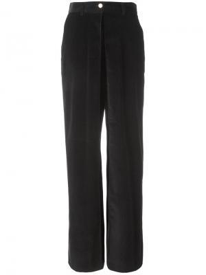 Широкие брюки с высокой талией Aalto. Цвет: чёрный