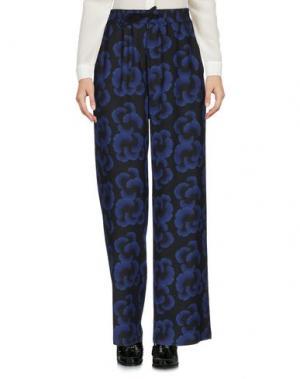 Повседневные брюки OBLÒ® UNIQUE. Цвет: темно-синий