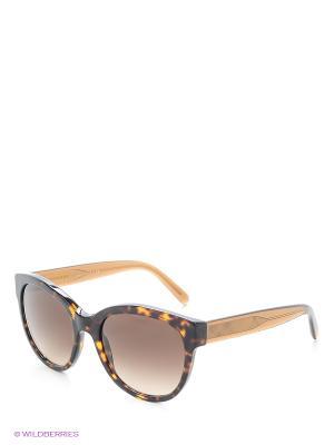 Солнцезащитные очки BURBERRY. Цвет: коричневый