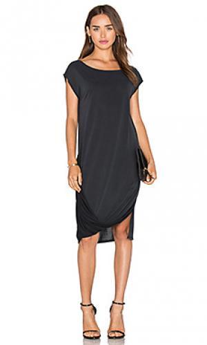 Платье kacy LA Made. Цвет: черный