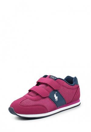 Кроссовки Polo Ralph Lauren. Цвет: фиолетовый