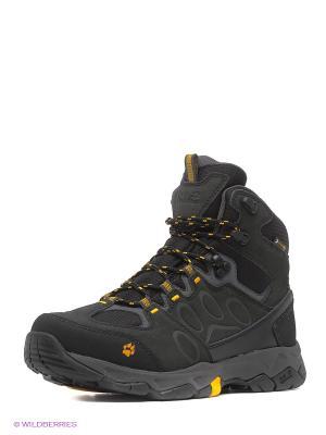 Спортивные ботинки Jack Wolfskin. Цвет: темно-серый