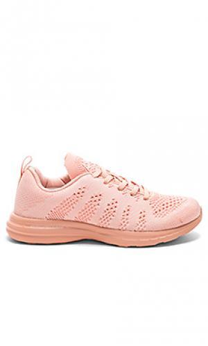Кроссовки для бега techloom Athletic Propulsion Labs: APL. Цвет: румянец