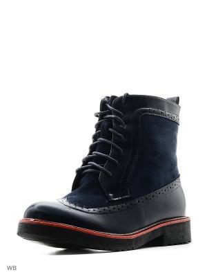 Ботинки Camidy. Цвет: голубой