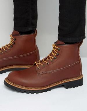 Red Wing Кожаные ботинки Ice Cutter. Цвет: коричневый
