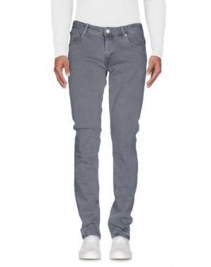 Джинсовые брюки PT05. Цвет: серый