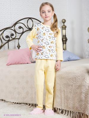Пижама Хох. Цвет: желтый