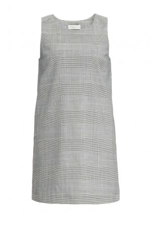 Платье 155663 Laroom. Цвет: серый