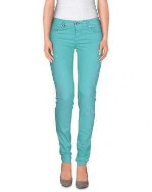 Повседневные брюки JCOLOR. Цвет: светло-зеленый