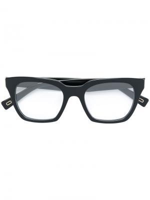 Square frame glasses Marc Jacobs Eyewear. Цвет: чёрный