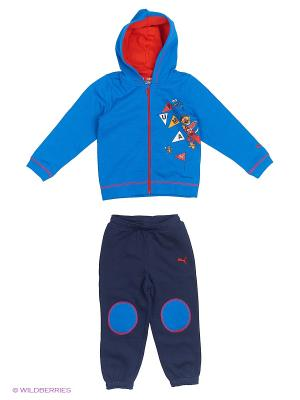 Костюм спортивный  Sesame Hooded Jogger Puma. Цвет: синий