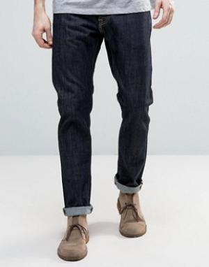 Edwin Темные суженные джинсы ED-55. Цвет: синий