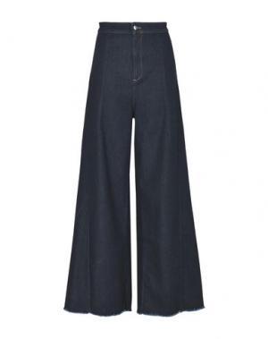 Джинсовые брюки 8. Цвет: синий