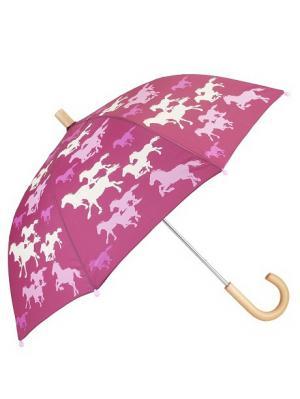 Зонт HATLEY. Цвет: фуксия