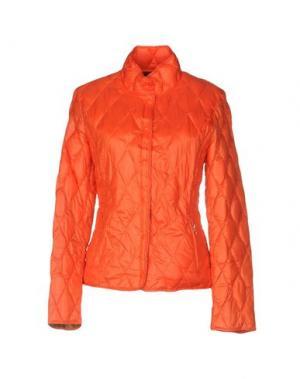 Пуховик BPD BE PROUD OF THIS DRESS. Цвет: оранжевый