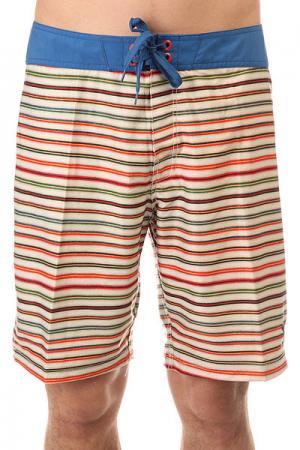 Шорты пляжные  Stringer Stripe Blue Lost. Цвет: мультиколор