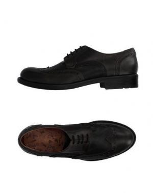 Обувь на шнурках YAB. Цвет: свинцово-серый