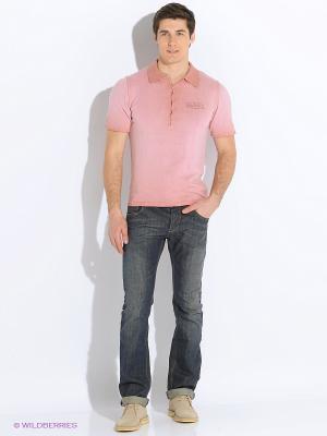 Поло VON DUTCH. Цвет: розовый