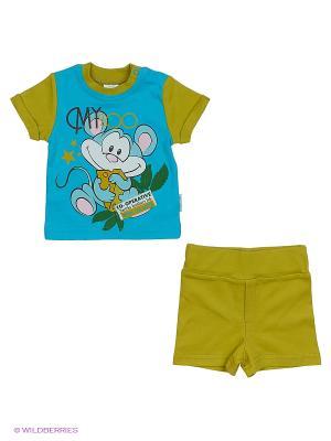 Комплект одежды PEPELINO. Цвет: голубой