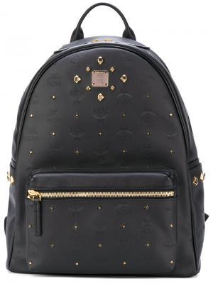 Studded backpack MCM. Цвет: чёрный