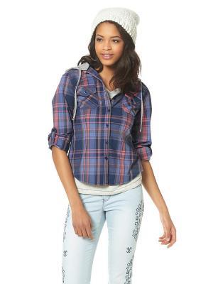 Рубашка KangaROOS. Цвет: серо-голубой