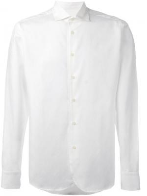 Текстурированная рубашка Al Duca D'Aosta 1902. Цвет: белый