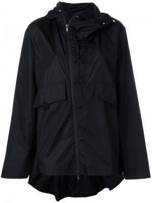 Куртка на молнии с капюшоном Sàpopa. Цвет: чёрный