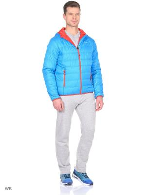 Куртка Radder. Цвет: голубой