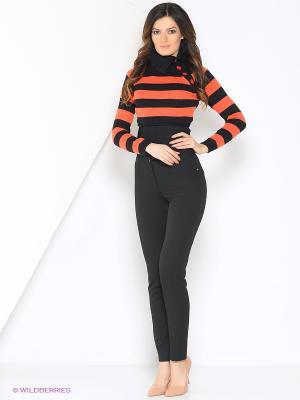 Болеро RUXARA. Цвет: черный, оранжевый