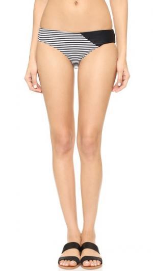 Плавки бикини в стиле трусиков-шортов Giejo. Цвет: полоска