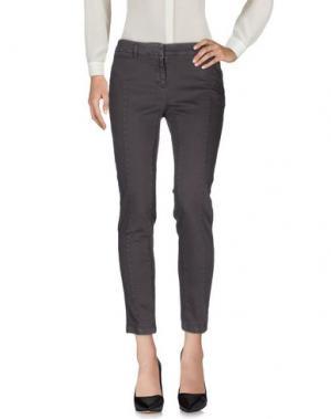 Джинсовые брюки COAST WEBER & AHAUS. Цвет: стальной серый