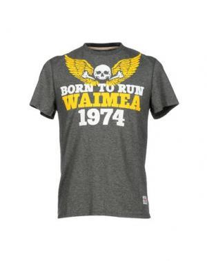Футболка WAIMEA CLASSIC. Цвет: серый