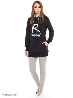 Худи Radder. Цвет: черный