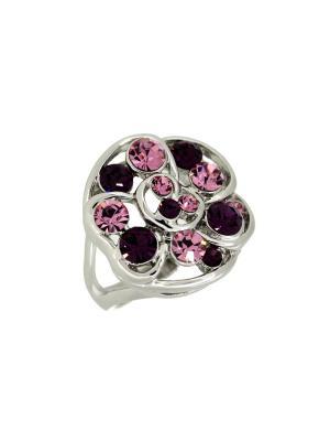 Кольцо Incognito.. Цвет: фиолетовый, розовый