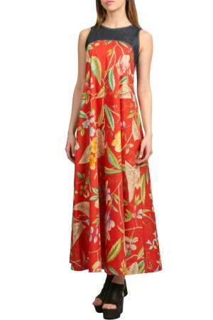 Платье Энсо. Цвет: красный