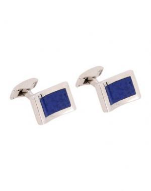 Запонки и зажимы для галстука TATEOSSIAN. Цвет: ярко-синий
