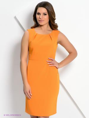 Платье AKIMBO. Цвет: оранжевый