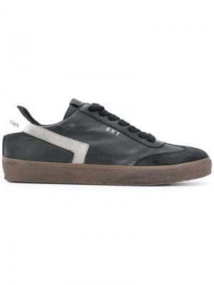 Кроссовки на шнуровке Leather Crown MLC79112303989