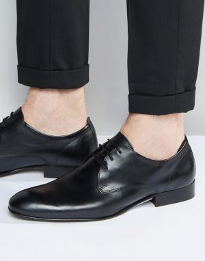 Base London Кожаные туфли-оксфорды Business. Цвет: черный